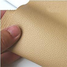 DIY Pure kleur Lychee patroon PU lederen stof kleine kiezels kunstmatige kunstmatige PU lederen stof DIY naaien tas materi...