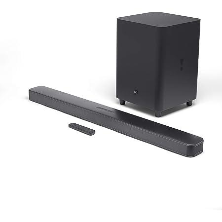 "JBL JBL2GBAR51IMBLKAM Bar 5.1 Soundbar with Built-in Virtual Surround, 4K and 10"" Wireless Subwoofer (Renewed)"