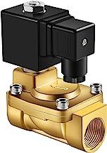 """Forever Speed Magneetventiel messing elektrische magneetklep 230 V magneetventiel, servogestuurd, watergasolie (G1/2"""" 0,3-..."""