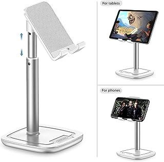 Soporte Tablet Teléfono Altura,JOYROOM Ajustable Soporte Movil Mesa,Compatible con Phone,Samsung Tab, Huawei, Facetime, Teletrabajo, Transmisión en Vivo(4