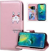 Etui Coque Huawei Nova 5T,Housse en Cuir Portefeuille Flip Case Antichoc TPU Coque Protection,JAWSEU Dessin Animé Motif ac...