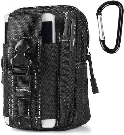 61647bdfa3 AODOOR Outdoor Reisen Sport Taktische Tasche Bauchtasche, Gürteltasche  Handytasche Tasche Waist Bag-Multifunktional für
