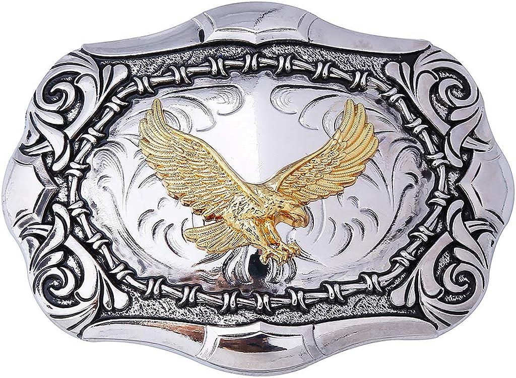 Soar-leap 5% OFF Native American Max 81% OFF Bald Eagle Belt Cowboy Buckle Western