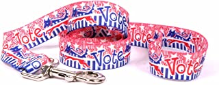 Yellow Dog Design Voter Dog Dog Leash-Size Small/Medium-3/4 Inch Wide and 5 feet (60 inches) long