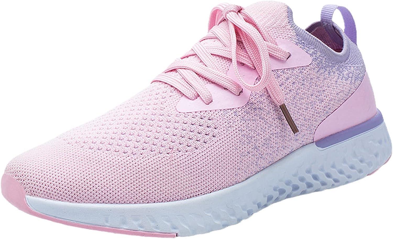 Charlotte Mall FAMOORE Women's Walking Shoes Mesh Sock Lightweight OFFer Sli Sneakers