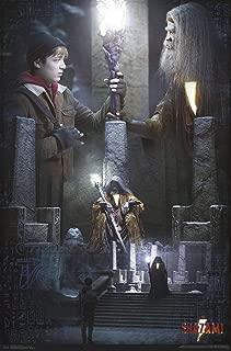 Trends International DC Comics Movie - Shazam - The Wizard Wall Poster, 22.375