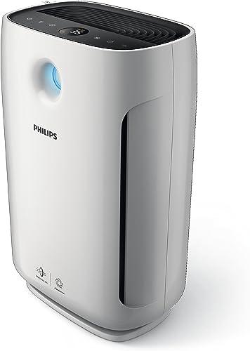 Philips Series 2000 Air Purifier with AeraSense Technology & 3 Auto Modes, White, AC2887/70