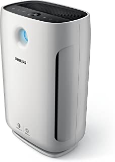 Philips Series 2000 Air Purifier with AeraSense Technology (3 Auto Modes, Real Time Indoor Feedback & Smart Light Contro...
