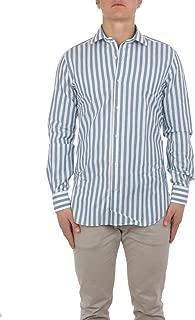 BARBA Luxury Fashion Mens BARBA577503 Light Blue Shirt   Spring Summer 19