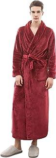 Mens Dressing Gown | Super Soft Luxury 1KG Gown Robe | Gifts for Men | Plush Warm Bathrobe | Shawl Collar Housecoat