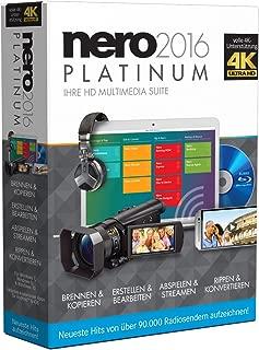 Nero 2016 Platinum. Für Windows 7/8/8.1/10