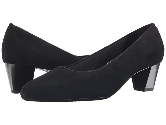 ara  Kelly (Black Suede) Womens  Shoes
