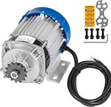 Mophorn 48V DC 750 Watt Electric Brushless Motor 6:1 Gear Reduction with 14 Tooth Gear for DIY Tricycle E-bikes Electric Scooters