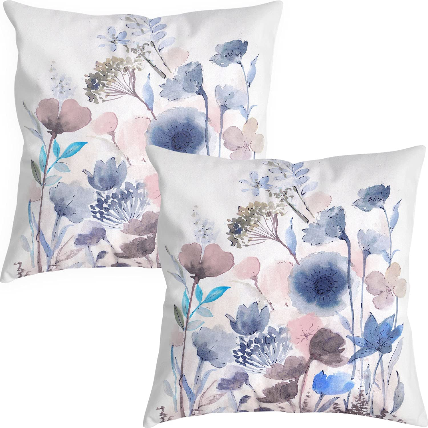 Decorative Flower OFFicial store Throw Pillow Covers x Floral 18 Super-cheap Pillows