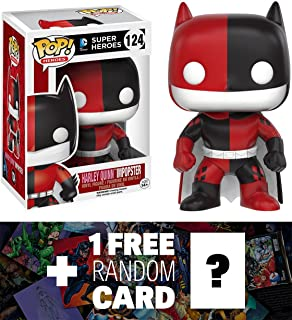 Harley Quinn / Batman Imposter: Funko POP! x DC Universe Vinyl Figure + 1 FREE Official DC Trading Card Bundle (107778)