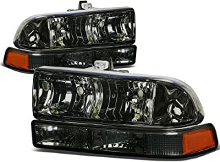 chevy s10 smoked headlights
