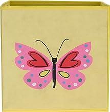 Pudełko do przechowywania dla dzieci, pudełko na zabawki, skrzynka na zabawki do pokoju dziecięcego (30 x 30 x 30 cm), skł...