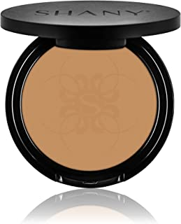 SHANY Two Way Foundation, Oil - Free, Talc Free, Wet/Dry - RICH SAND