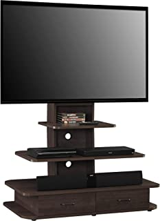 Ameriwood Home Galaxy TV Stand with Mount and Drawers for TVs up to 70