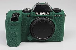 X-S10 etui, Zakao miękka silikonowa torba lekka smukła skóra gumowa ochronna obudowa na aparat cyfrowy pokrowiec do Fujifi...