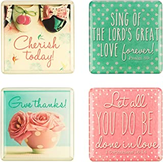 Magnet Set - Life Is Beautiful - 4-Pack