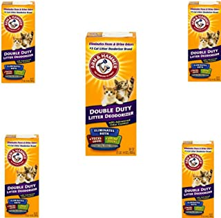 Arm & Hammer Double Duty Litter Deodorizer with Advanced Odor Control 30oz (5)