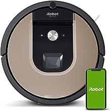 iRobot Roomba 966- Robot aspirador con Wi-Fi, dos cepillos de goma multisuperficie y antienredos, óptimo mascotas, Recarga...
