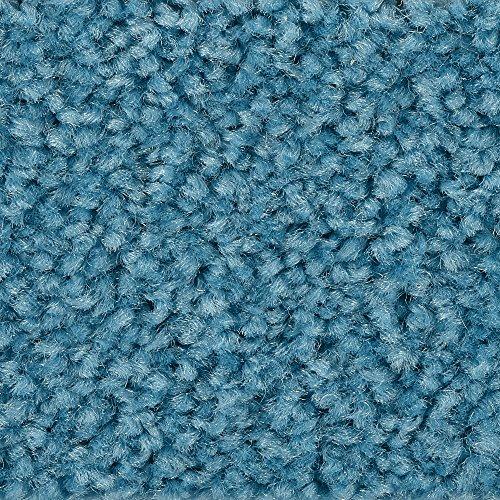 BODENMEISTER BM72182 Teppichboden Auslegware Meterware Hochflor Shaggy Langflor Velour türkis blau hell 400 cm und 500 cm breit, verschiedene Längen, Variante: 2 x 5 m