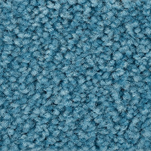 BODENMEISTER BM72182 Teppichboden Auslegware Meterware Hochflor Shaggy Langflor Velour türkis blau hell 400 cm und 500 cm breit, verschiedene Längen, Variante: 2 x 4 m