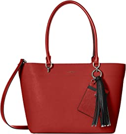 Susan Small Saffiano Leather Tote