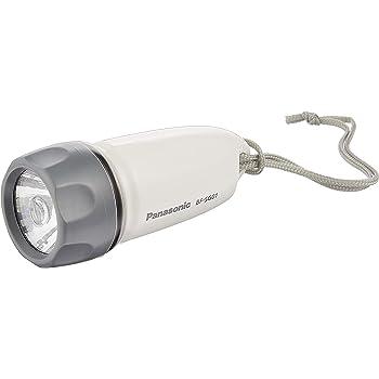 パナソニック LED懐中電灯 乾電池付き 防水 BF-SG01K-W