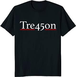 Tre45son Anti Trump Impeach Blue Wave Treason 2018 Shirt