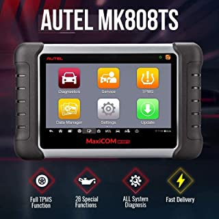 Autel MaxiCOM MK808TS TPMS Scanner with Complete TPMS and Sensor Programming, Diagnosis for All...