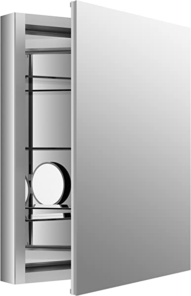 KOHLER K 99007 NA Verdera 24 Inch By 30 Inch Slow Close Medicine Cabinet With Magnifying Mirror