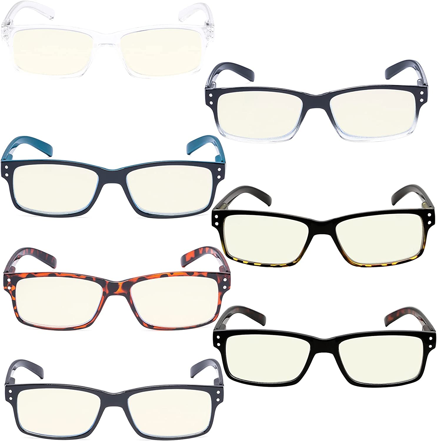 Reducblu Blue Light Challenge the lowest price of Japan ☆ Blocking shop Glasses for Compute Men Women and -