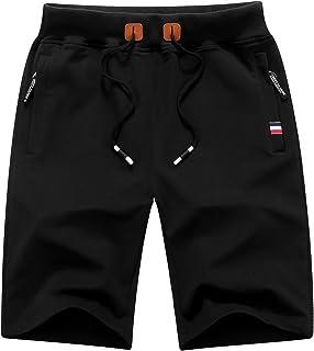 Mens Casual Shorts Workout Fashion Comfy Shorts Breathable Big and Tall Shorts