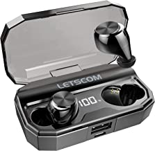 Wireless Earbuds, Letscom 80 Hrs Playtime, IPX6 Waterproof Headphones with Wireless..