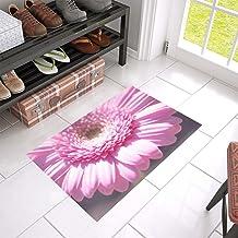 Marguerite Pink Pink Daisy Flower Pink Flower Unique Debora Custom Bathroom Accessories Non-Slip Bath Mat Rug Bath Doormat...