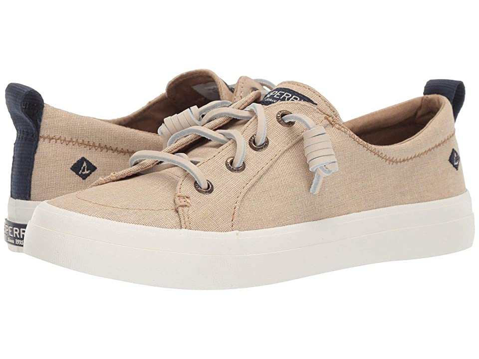 Sperry Crest Vibe Washed Linen (Linen) Women