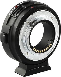 VILTROX® EF-M1 Autofokus AF Objektiv Adapter Konverter mit Blendeneinstellung für Canon EF EF EF-S Objektiv auf M4 / 3 Kam...