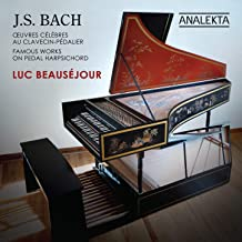 J.S. Bach: Famous Works on Pedal Harpsichord