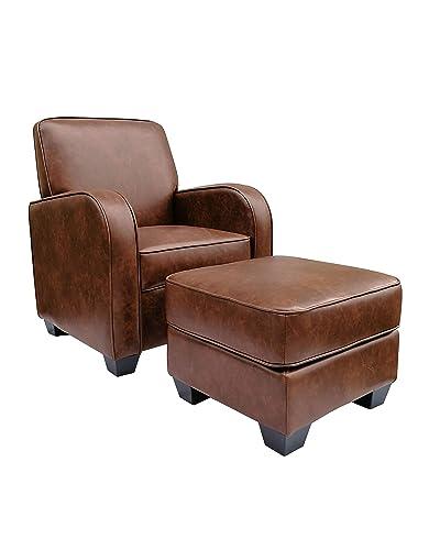 Astounding Chairs And Ottomans Amazon Com Customarchery Wood Chair Design Ideas Customarcherynet