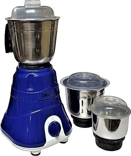 MAYUMI GLS EXPERTS VENUS Mixer Grinder 750 Watts with 3 SS Jar for Home Kitchen Colors may Vary
