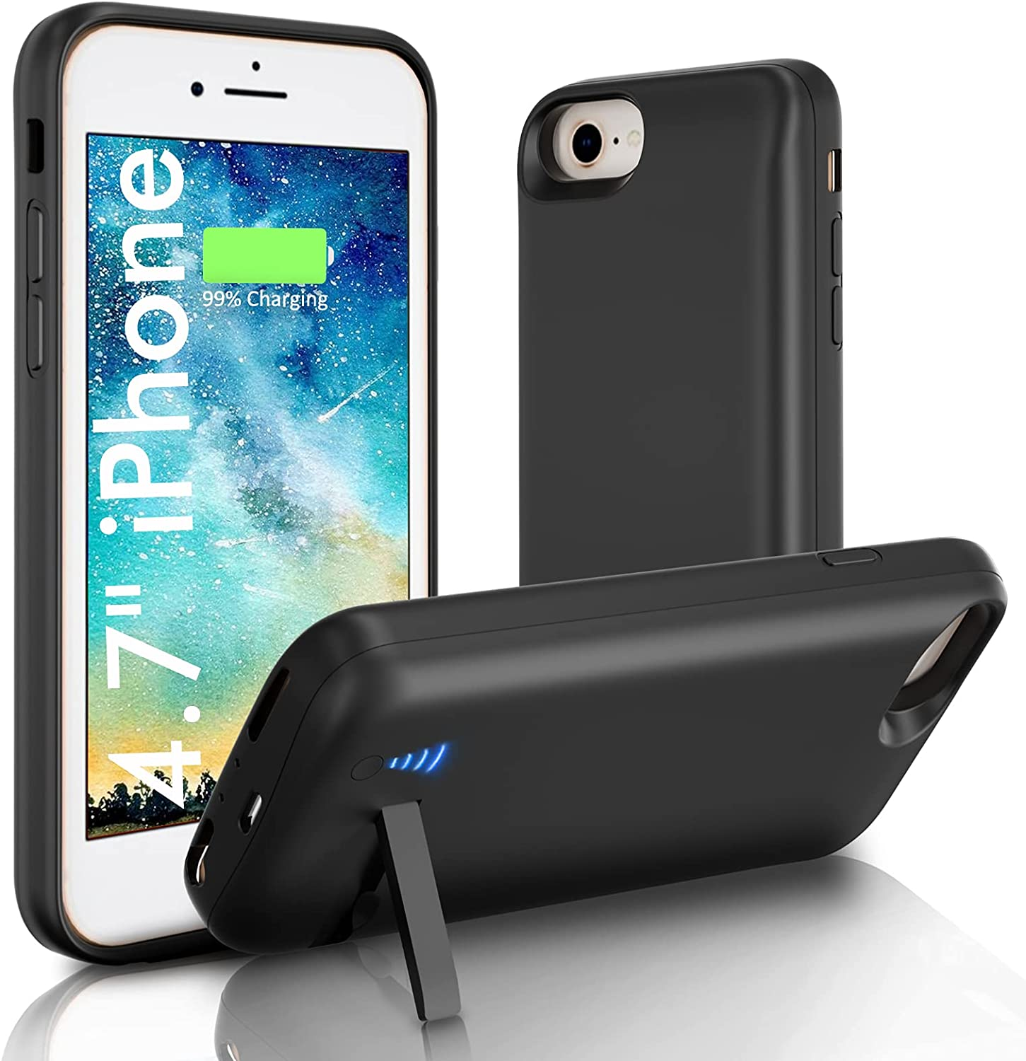 Battery Many popular brands Case for Limited price iPhone 7 8 6s SE Charg Portable 6000mAh 6 2020