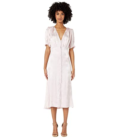 The Kooples Jacquard Maxi Dress (Nude) Women