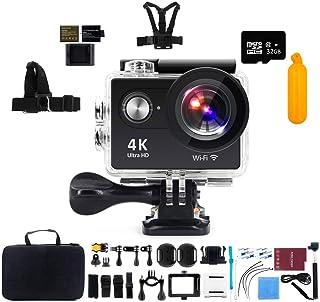 "Action Camera, Kebo 2.0"" LCD Screen 4K WiFi Ultra HD Waterproof Sport Camera"