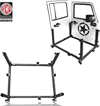 u-Box Door Storage Sliding Rack Movable Cart Rock Crawler for 2007-2020 Jeep Wrangler JK JL Unlimited 4-Door