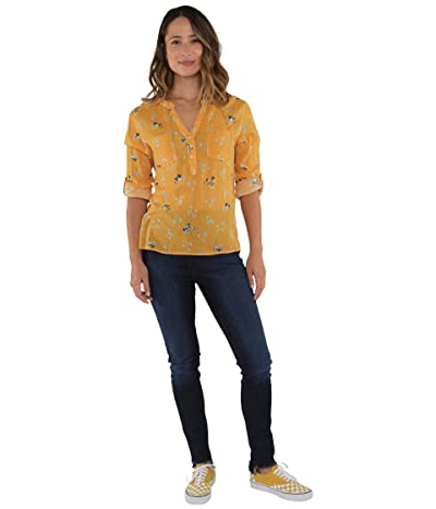 Carve Designs Dylan Gauze Shirt (Sunflower Belle) Women