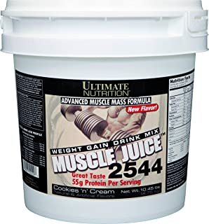 Ultimate Nutrition Muscle Juice 2544 Classic Gainer Protein (Cookies N Cream, 13.2 Pounds)