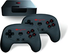 My Arcade GameStation Wireless - Plug and Play Game Console - 2 Wireless Controllers - 300 Retro Style Games - Battery or USB Powered - Plugs Into TV